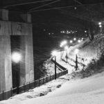 Bridge pillars the River Oswego NY